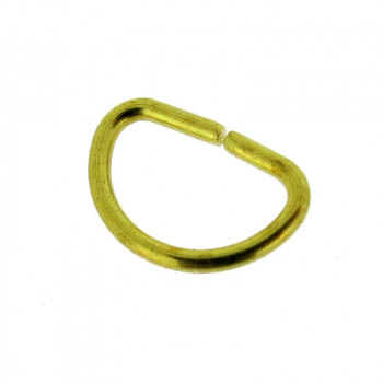 """Anellino a """"D"""" 7 x 10 mm"""