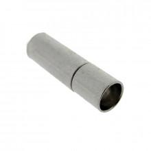 Chiusura a pressione nickel free per cordone mm 4