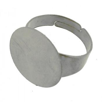 Anello regolabile con disco 18 mm