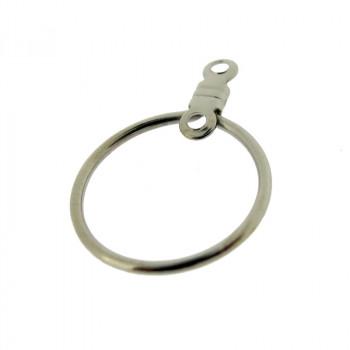 Cerchio per orecchini mm 15