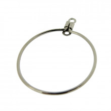 Cerchio per orecchini mm 23