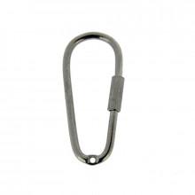 Portachiavi senza catena in ferro nikel