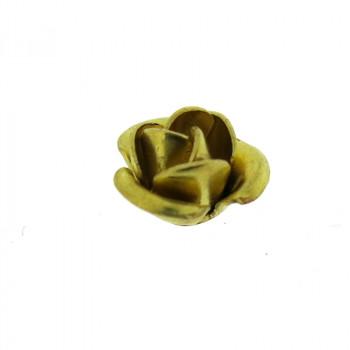 Rosa in ottone piccola 7 mm