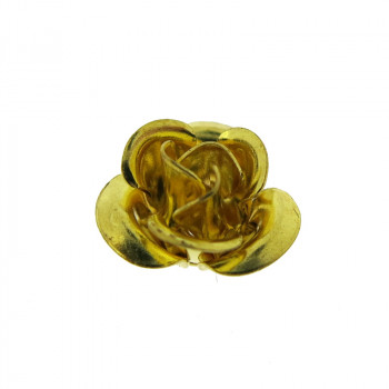 Rosa in ottone grande 10 mm