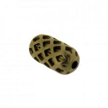 Ovalina lavorata da 4 x 8 mm