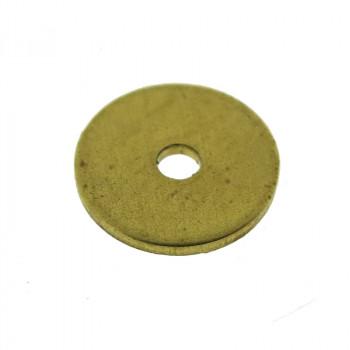 Paillette liscia in ottone diametro mm 8