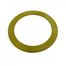 Cerchio liscio in ottone diam. mm  27