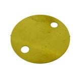 Cerchio con fori in ottone 30 mm