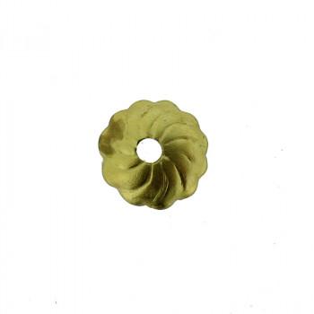 Coppetta tranciata da mm 7 c/foro