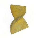 Minuteria tranciata c/ fondello retro mm 22x32 sx