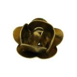 Rosa in ottone da mm 8 componente bigiotteria