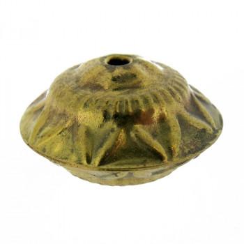 Cipolla lavorata vuota da mm 30x20 c/foro passante