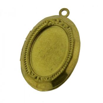 Portafoto a pendente ovale grande mm 20x16