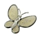 Farfalla grande in rete di ottone mm 35x30
