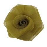 Rosa in rete da mm 45 componente bigiotteria