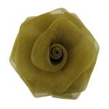 Rosa in rete da mm 55 componente bigiotteria