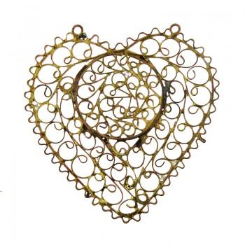 Filigrana cuore cm 7x6.5