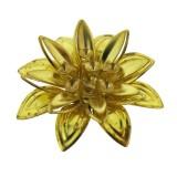 Fiore in ottone 28 mm
