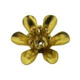 Fiore in ottone 15 mm