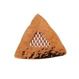 Triangolo con maglia in rete centrale mm 25