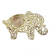 Elefante in filigrana cm 9