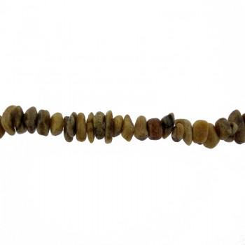 Filo part. radice di corallo da cm. 40