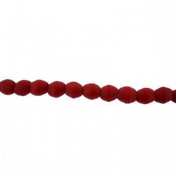 Particolare  ad oliva in osso rosso  circa mm 8x6