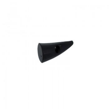 Bottone a cono di corno  mm 35 c/1 foro per bigiotteria etnica