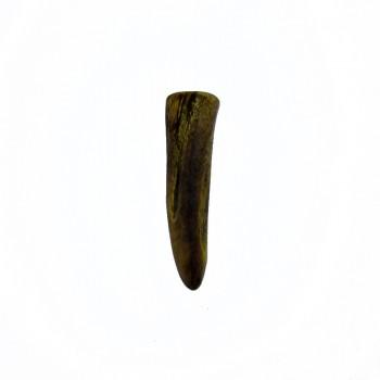 Particolare in corno finale da mm 45 circa per bigiotteria etnica