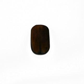 Ovale da mm 40x25 in corno per bigiotteria etnica