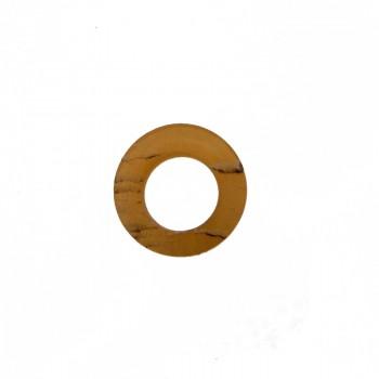 Cerchio da mm.30 in corno per bigiotteria etnica