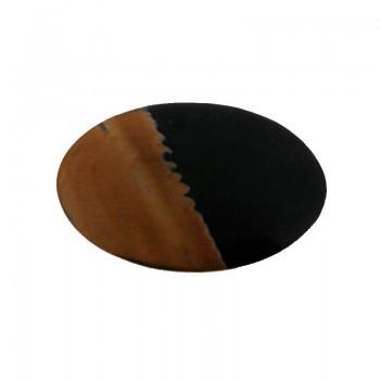 Ovale mm 80x50 in corno per bigiotteria etnica
