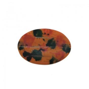 Ovale mm 80x50 in osso colorato
