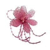 Fiore in conteria diam. cm 6 circa