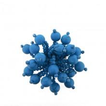 Accessorio con sfere turchese diametro cm 5