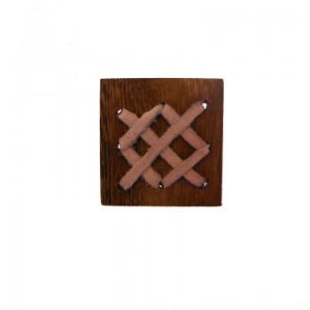 Quadrato in legno mm 35x35 c/lavorazioni (rubles wood)
