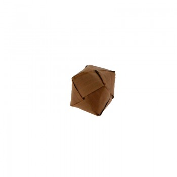 Cubo da mm 31x31 in foglia naturale