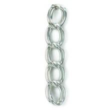 Catena in alluminio ad anelli doppi mm 18x24