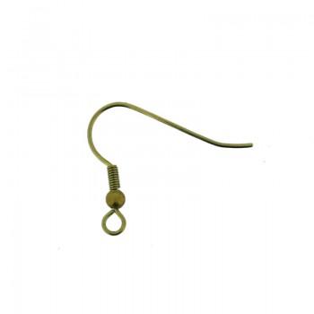 Monachella aperta con anellino in ottone in oro