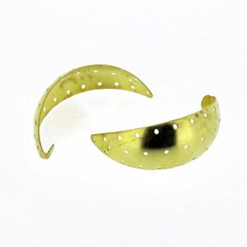 Particolare per orecchini traforato in ottone