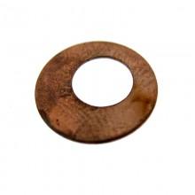 Paillette tonda in ferro ramato mm 12