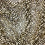 Maglia metallica grezza da 160x50 cm composta da piramide da 3 mm