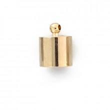 Coppetta con anello in ottone grezzo interno 12mm