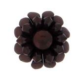 Fiore in plastica colorato cm 4.5