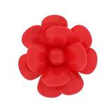 Fiore in plastica colorato mm 45