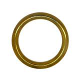 Anello tubolare ottone esterno 70 mm interno 50 mm