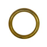 Anello tubolare ottone esterno 62 mm interno 45 mm