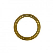 Anello tubolare ottone esterno 49 mm interno 37 mm