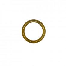 Anello tubolare ottone esterno 30 mm interno 22 mm