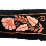 Passamaneria in tessuto e catene h. 5.5 cm